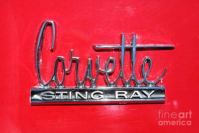 Photograph - 1960 Chevrolet Corvette Sting Ray . 5d16500 by Wingsdomain Art and Photography
