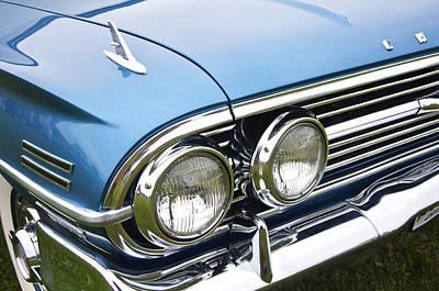Photograph - 1960 Chevrolet Impala Front End by Glenn Gordon
