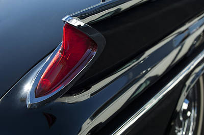 Chrysler 300 Photograph - 1960 Chrysler 300 F Special 4-speed Convertible Taillight by Jill Reger