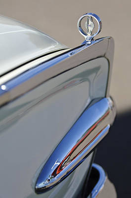 Photograph - 1960 Edsel Hood Ornament by Jill Reger