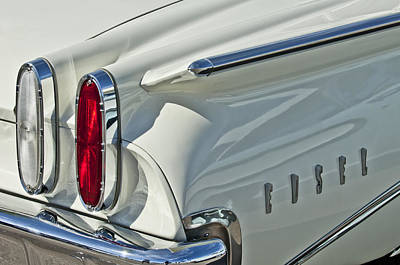 Photograph - 1960 Edsel by Jill Reger