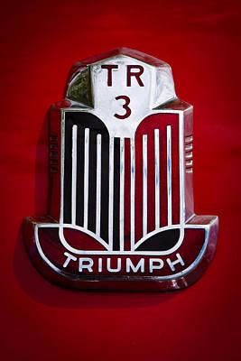 1960 Triumph Tr3a Art Print by David Patterson