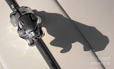 Old Car Photograph - 1960s Jaguar Mascot 1 by Susan Isakson