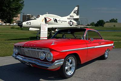 Photograph - 1961 Chevrolet Impala by Tim McCullough