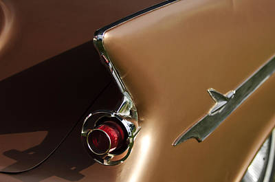 Photograph - 1961 Chrysler Imperial Taillight by Jill Reger