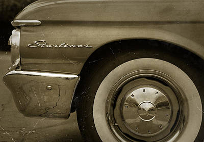 1961 Ford Starliner Art Print by Gordon Dean II