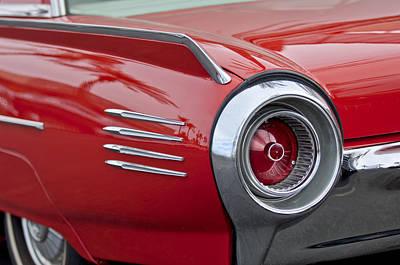 1961 Ford Thunderbird Taillight Art Print by Jill Reger