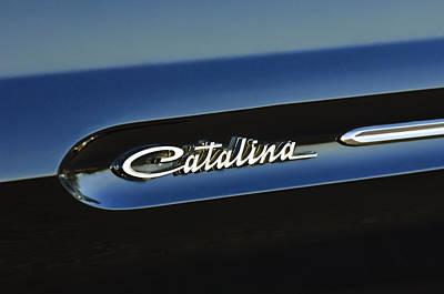 Pontiac Catalina Wall Art - Photograph - 1961 Pontiac Catalina Emblem by Jill Reger