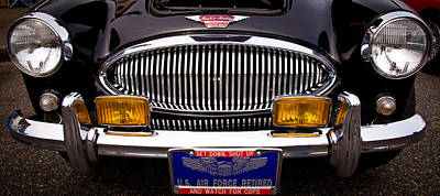 Kim Fearheiley Photography Royalty Free Images - 1962 Austin Healey 3000 MkII Royalty-Free Image by David Patterson