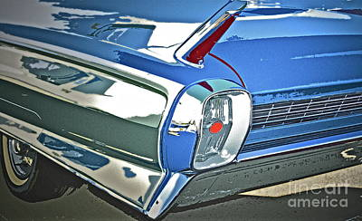 1962 Cadillac El Dorado Art Print by Gwyn Newcombe