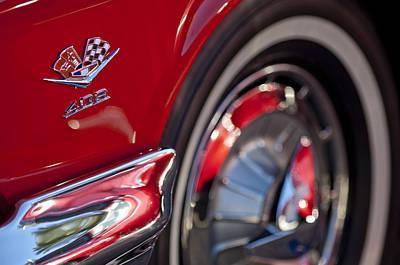 Photograph - 1962 Chevrolet Impala 409 Emblem by Jill Reger
