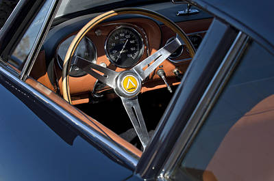 Photograph - 1963 Apollo Steering Wheel     by Jill Reger