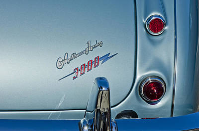 Photograph - 1963 Austin-healey Taillight by Jill Reger