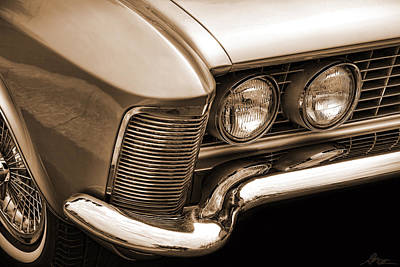 Photograph - 1963 Buick Riviera Sepia by Gordon Dean II