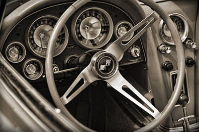 Photograph - 1963 Chevrolet Corvette by Gordon Dean II