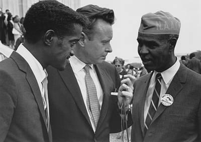 1963 Civil Rights March On Washington Print by Everett