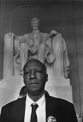 1963 March On Washington. A. Philip Print by Everett