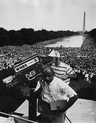 1963 March On Washington. Nbc Print by Everett