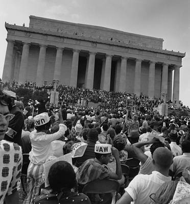 1963 March On Washington. View Art Print by Everett