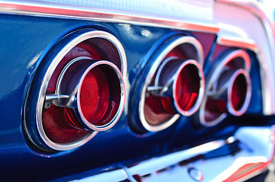 Photograph - 1964 Chevrolet Impala Ss Taillight 2 by Jill Reger