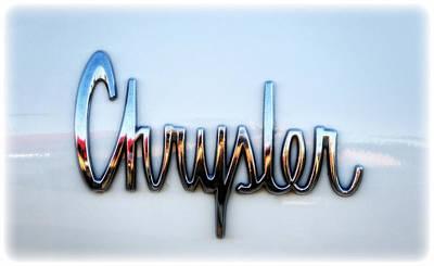 Chrysler 300 Photograph - 1964 Chrysler Emblem  by Saija  Lehtonen