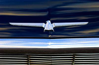 1964 Ford Emblem Photograph - 1964 Ford Thunderbird Emblem by Jill Reger
