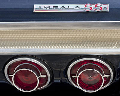 Photograph - 1964 Impala by John Zawacki