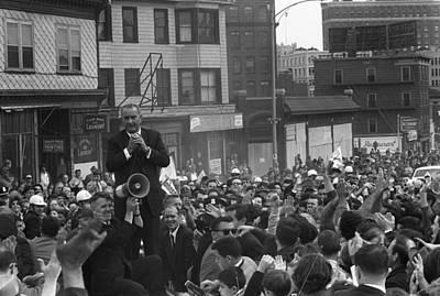 Lyndon Photograph - 1964 Lbj Presidential Campaign. Lyndon by Everett