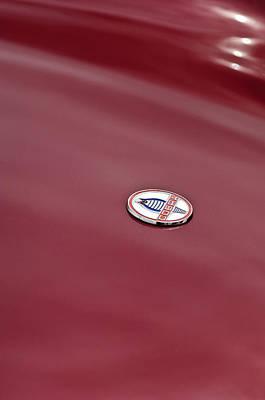 Photograph - 1964 Shelby 289 Cobra Hood Emblem by Jill Reger