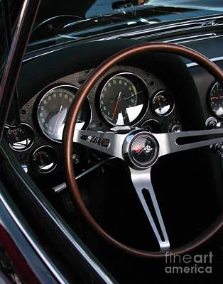 1965 Corvette Roadster Dash Art Print