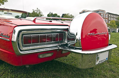 Photograph - 1965 Ford Thunderbird Back by Glenn Gordon