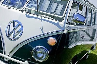 Photograph - 1966 Volkswagen Vw Microbus by Jill Reger