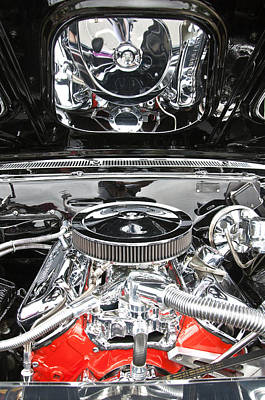 Photograph - 1967 Chevrolet Chevelle Ss Engine 2 by Glenn Gordon