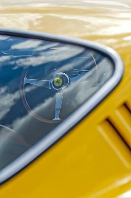 Photograph - 1967 Ferrari 275 Gtb4 Steering Wheel 3 by Jill Reger