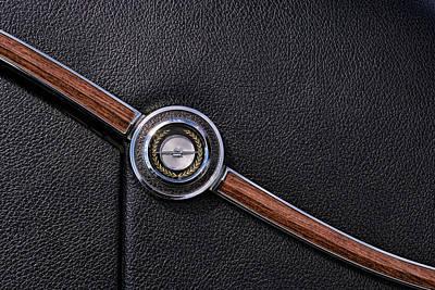 Black Top Digital Art - 1967 Ford Thunderbird Rear C-pillar Emblem by Gordon Dean II