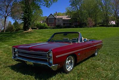 Photograph - 1967 Plymouth Fury IIi Convertible by Tim McCullough