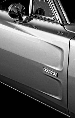 1968 Dodge Charger Hemi Original by Gordon Dean II