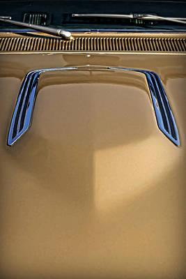Photograph - 1968 Dodge Coronet Rt Hood by Gordon Dean II