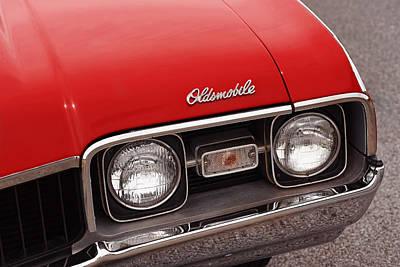Photograph - 1968 Oldsmobile Cutlass Supreme by Gordon Dean II