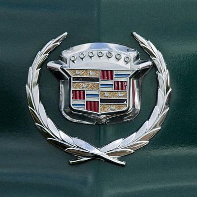 1969 Photograph - 1969 Cadillac Eldorado Emblem 2 by Jill Reger