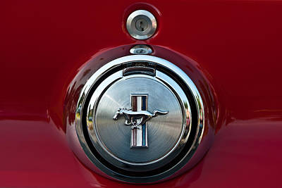 Photograph - 1969 Ford Mustang Mach I Gas Cap by  Onyonet  Photo Studios