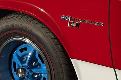 Photograph - 1969 Sc Rambler Wheel Emblem by Jill Reger