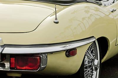 Photograph - 1970 Jaguar Xk Type-e Taillight 2 by Jill Reger