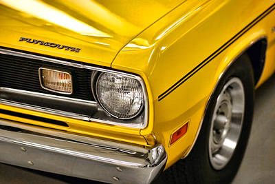 1970 Plymouth Duster 340 Art Print by Gordon Dean II