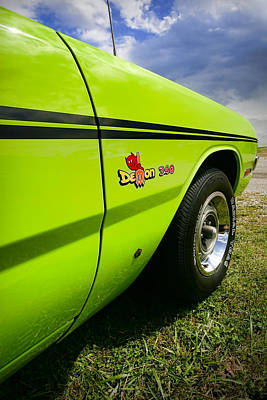 Subliminal Photograph - 1971 Dodge Demon 340 by Gordon Dean II