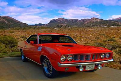 Photograph - 1971 Plymouth Barracuda by Tim McCullough