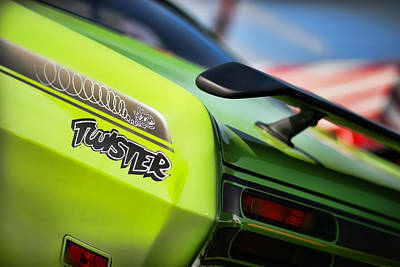 Photograph - 1971 Plymouth Duster Twister by Gordon Dean II