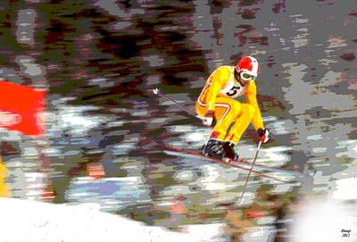 1972 Winter Olympics Art Print
