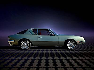 Photograph - 1973 Studebaker Avanti II by Tim McCullough