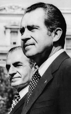 Mohammad Photograph - 1973 Us Presidency, International by Everett